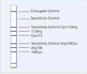 reaction zones GenoType� ApoE